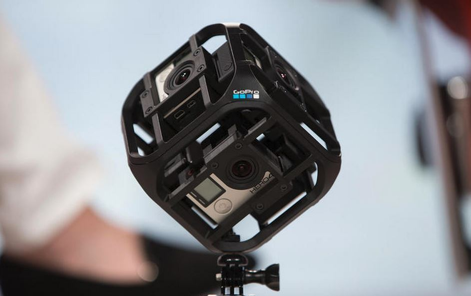 "Drone GoPro, accessorio ""Six-Camera Spherical Array"""