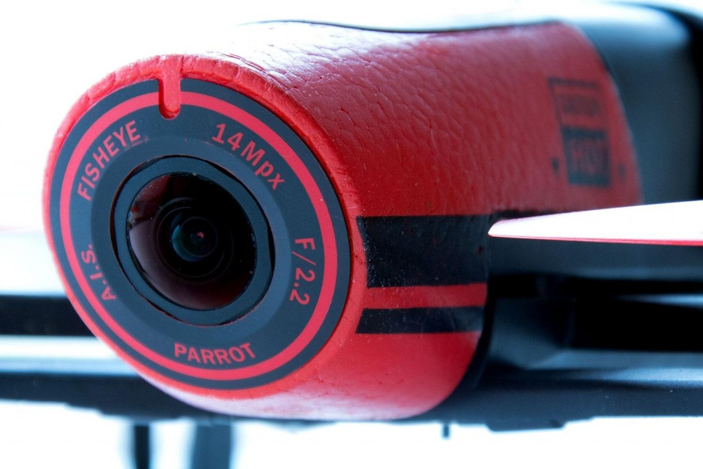 Camera Parrot Bebop Drone