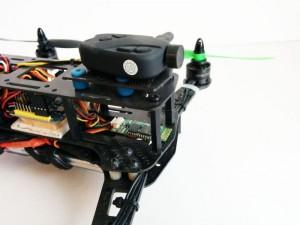 Particolare della Camera per il drone fpv