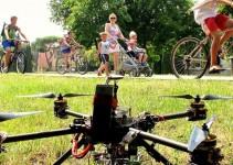 Drone su un parco