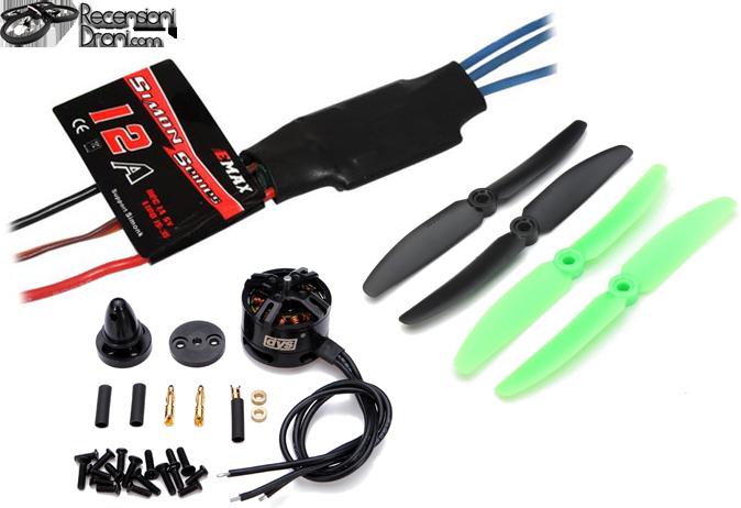 Motore, Alimentazione & Eliche per il Drone
