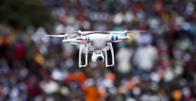 Drone allo stadio