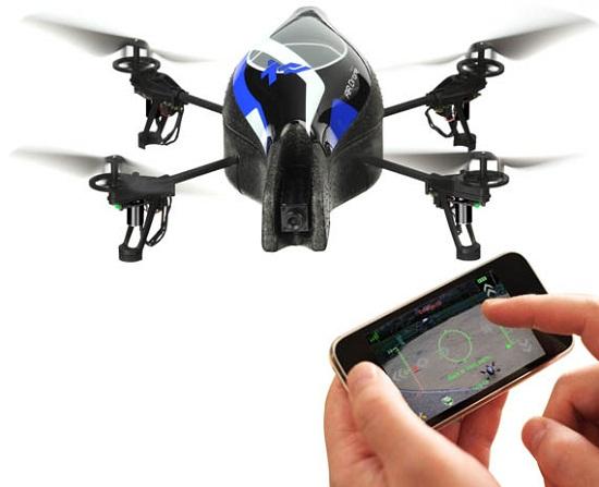 Drone pilotabile da Smartphone