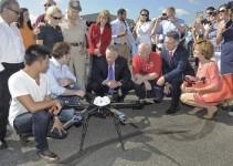 Prima consegna con i droni in Virginia