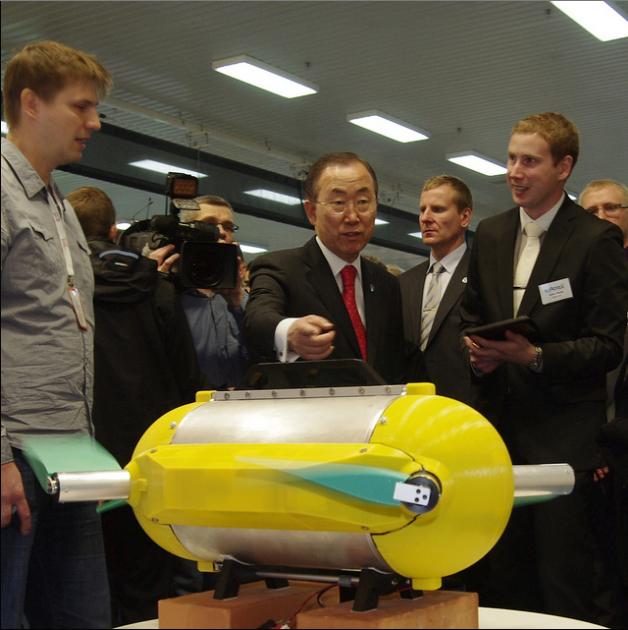 drone sottomarino arrows