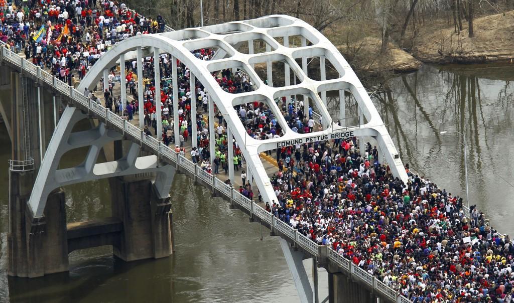 Ponte Selma da un drone