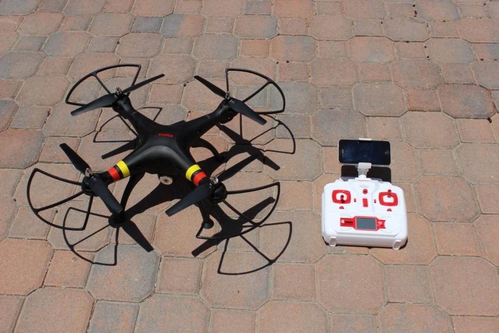 Drone Syma X8W con controller