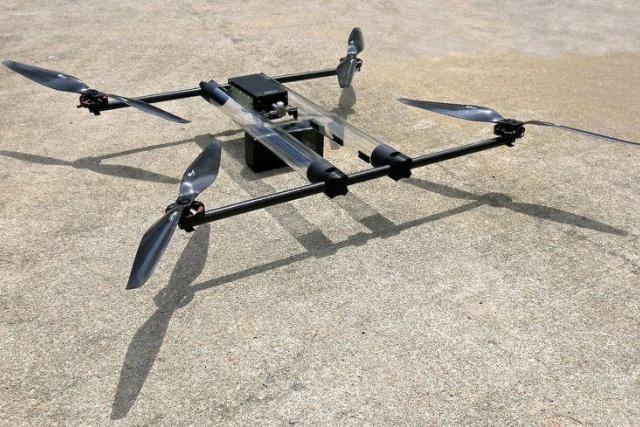 Un drone ad idrogeno sarà capace di volare diverse ore senza fermarsi
