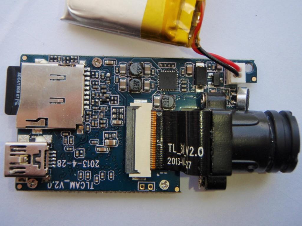 L'Hardware della Mobius Camera