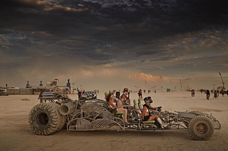 Burning Man Auto