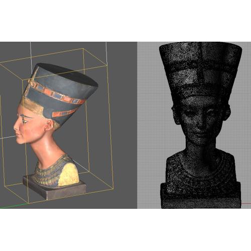 Ricostruzione 3D di un reperto archeologico