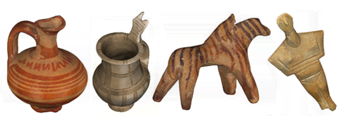 Oggetti antichi 3D