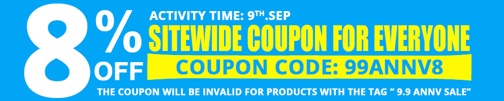 Ma non solo: RecensioniDroni.com vi mette anche a disposizione un codice coupon che vi garantisce uno sconto dell'8%
