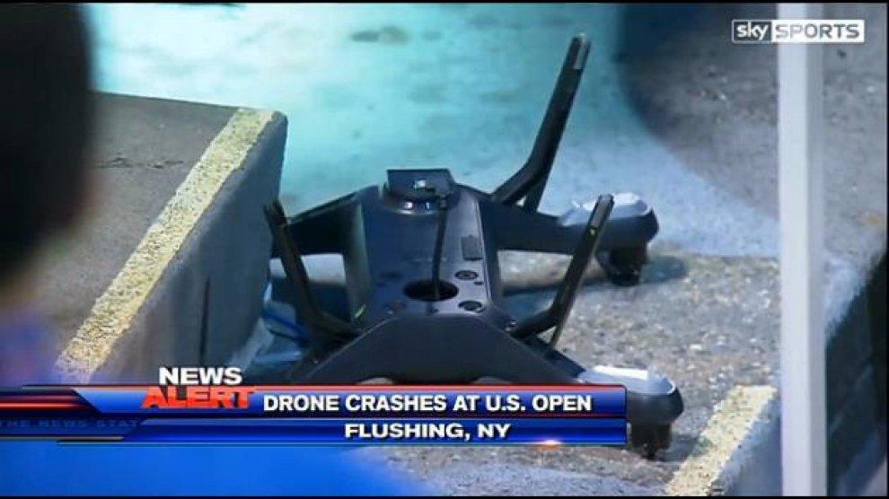 Drone 3DR Solo precipitato