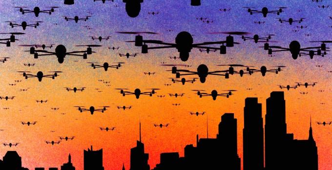 droni cielo