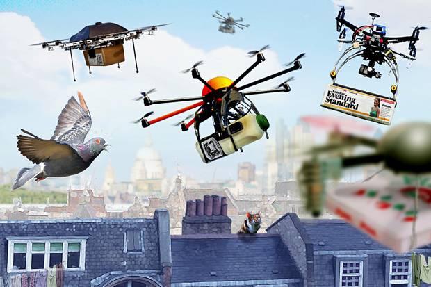 l' Inghilterra regolamenta i droni