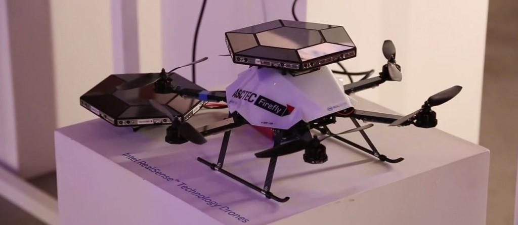 Drone Intel con camere 3D