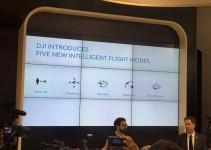 Le nuove modalità di volo presentate da DJI