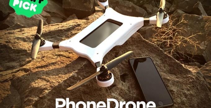 Drone - Smartphone