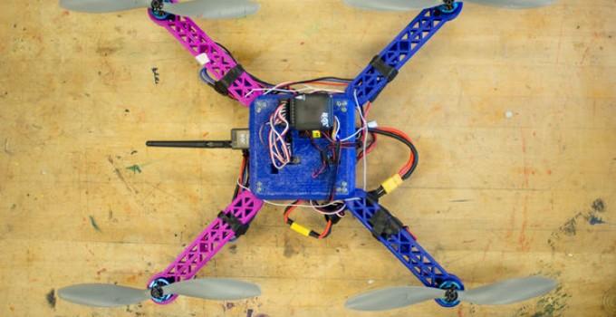 costruire drone stampante 3d