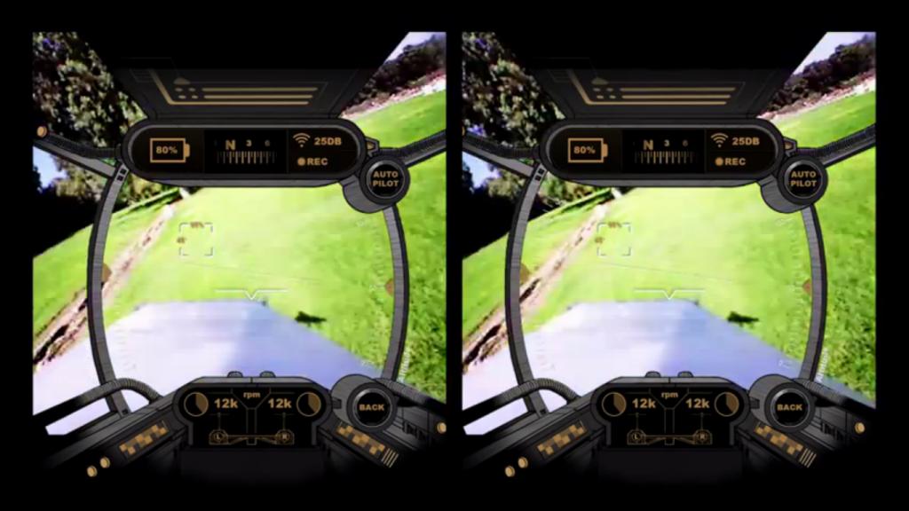 Drone di carta FPV