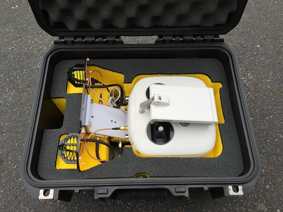 potenziare segnale drone