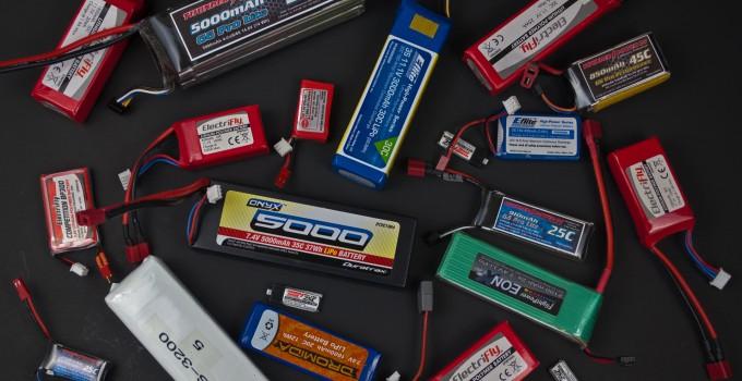 batterie lipo droni