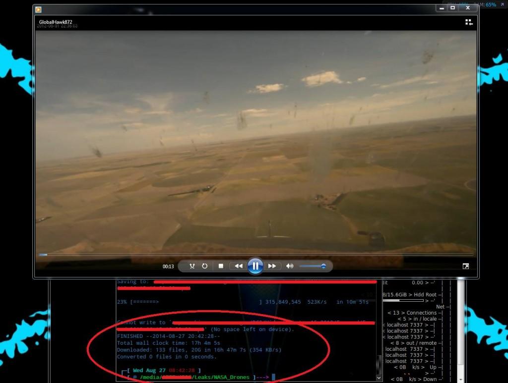 drone hackerato