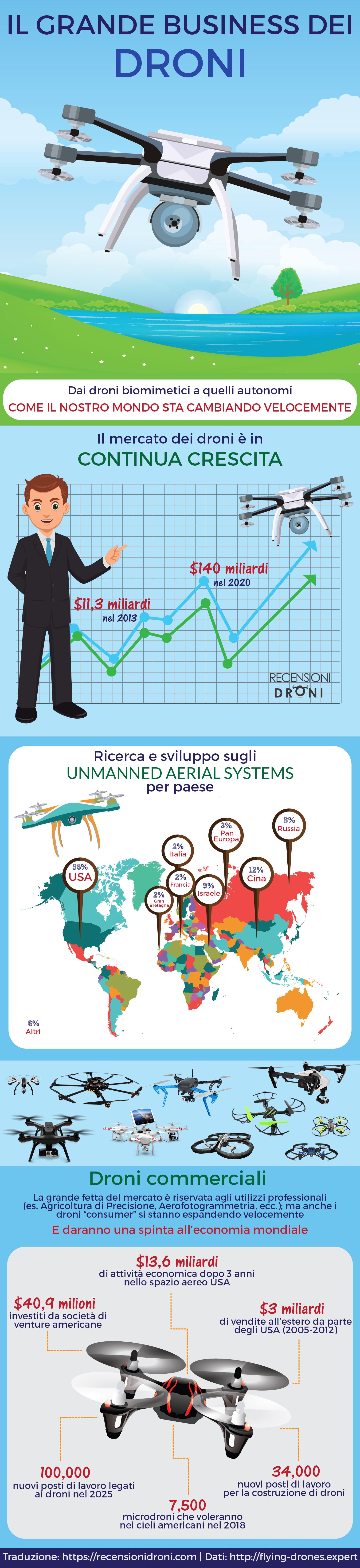 Infografica Droni