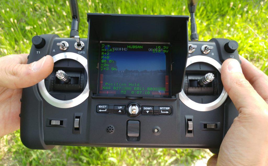 Radiocomando Hubsan X4 Pro FPV