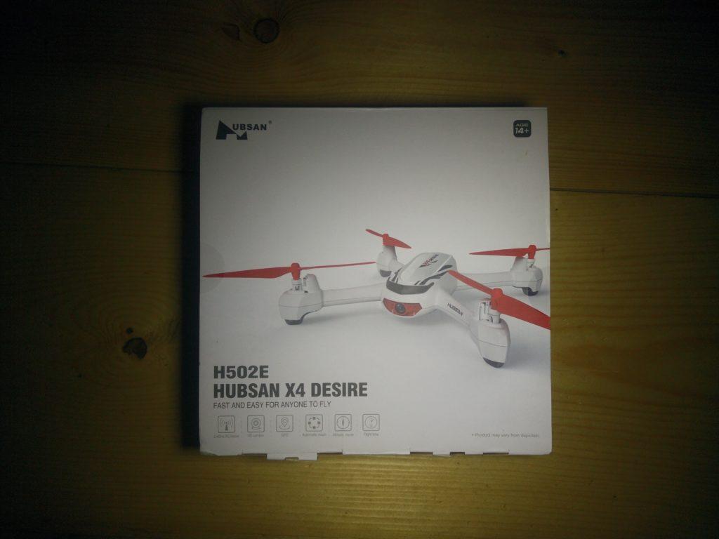 Scatola Hubsan H502E X4 Desire