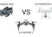 Differenze DJI Mavic Pro VS DJI Inspire 2 VS DJI Phantom 4 PRO