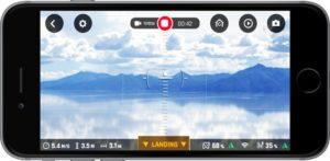Parrot Bebop 2 Power - App Smartphone
